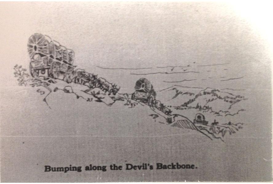 The Devils Backbone - Oregon Trail: Barlow Road